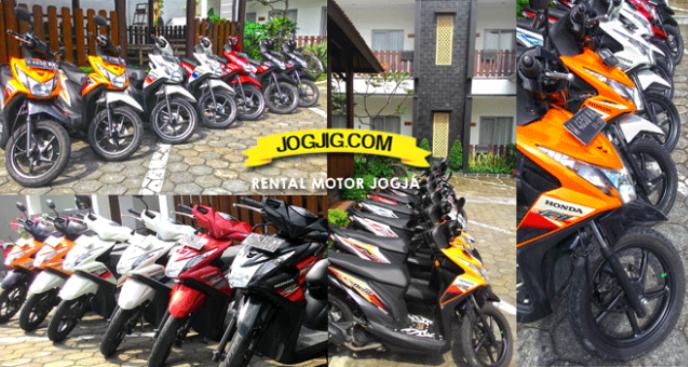 Sewa motor dekat stasiun tugu jogja