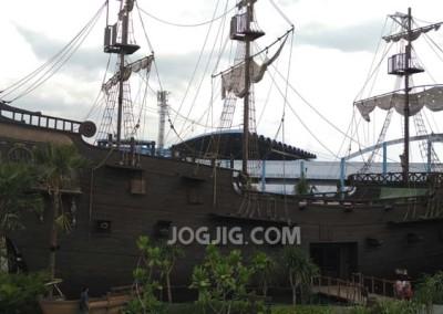 Kapal Bajak Laut Versi Jogja Bay